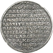 3 Thaler (100 years of Reformation) – revers