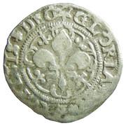 2 kreuzer, 1 vierer type à la croix et au lys (Légende latine) – avers