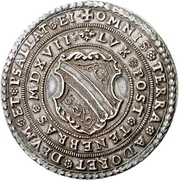 ½ Thaler (100 years of Reformation) – avers