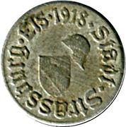 5 pfennig - Strassburg im Elsass (Strasbourg [67]) – avers