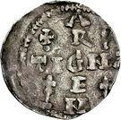 1 Pfennig - Heinrich II. – revers