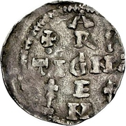 1 Pfennig - Heinrich II. -  revers
