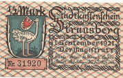 1/2 Mark (Strausberg ) -  avers