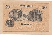 20 Heller (Strengberg) – avers