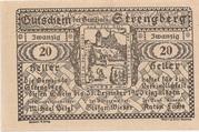 20 Heller (Strengberg) – revers