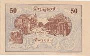 50 Heller (Strengberg) – avers