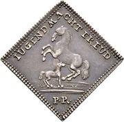 ½ Dukatenklippe (Silver pattern strike) – revers