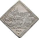 1 Dukatenklippe (Silver pattern strike) – avers