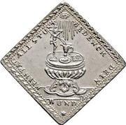 1 Dukatenklippe (Silver pattern strike) – revers