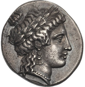 Stater (Stymphalos) – avers