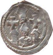 1 pfennig Eberhard II & Leopold VI – revers