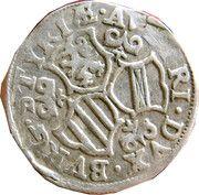 3 kreuzer Charles II Francois d'Autriche – revers