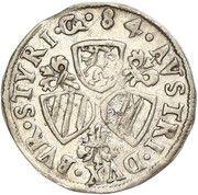 3 kreuzer Charles II Francois d'Autriche (Graz) – revers