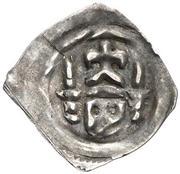 1 pfennig Duc Friedrich le Bel (Graz) – avers