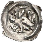 1 pfennig Duc Albrecht II le Sage (Graz) – avers