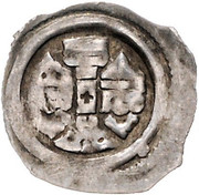 1 pfennig Ottokar II of Bohemia (Graz) – avers