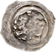 1 pfennig Ottokar II of Bohemia (Graz) – revers