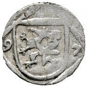 1 pfennig Ferdinand II Archiduc (Graz) – avers