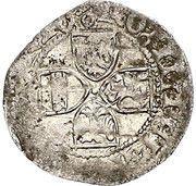 1 kreuzer Friedrich V(III) – revers