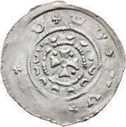 1 pfennig Otakar IV (Fishau) – revers