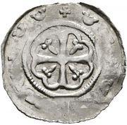 1 pfennig Otakar IV (Fishau) – avers
