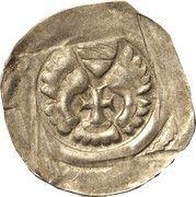 1 pfennig Albert I (Graz) – avers