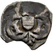 1 pfennig Frédéric III - V (Graz) – avers