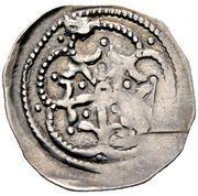 1 pfennig Otakar IV (Fischau) – avers