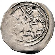 1 pfennig Otakar IV (Fischau) – revers