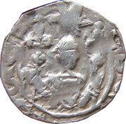 1 pfennig Eberhard II & Leopold VI – avers