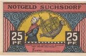 25 Pfennig (Suchsdorf) – avers