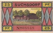 25 Pfennig (Suchsdorf) – revers