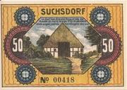 50 Pfennig (Suchsdorf) – revers