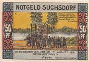 50 Pfennig (Suchsdorf) – avers