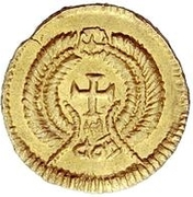 1 Tremissis - In the name of Honorius, 393-423 – revers