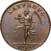 1 Daler SM - Charles XII de Suède (Karl XII) – avers