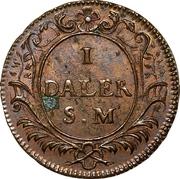 1 Daler SM - Charles XII de Suède (Karl XII) – revers