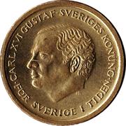 10 kronor Carl XVI Gustaf -  avers