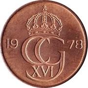5 öre Carl XVI Gustaf -  avers