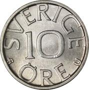 10 öre Carl XVI Gustaf -  revers