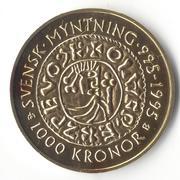 1000 Kronor - Carl XVI Gustaf Swedish Mint -  revers