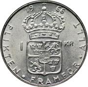 1 krona Gustav VI -  revers