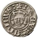 Örtug - Erik of Pommern (Stockholm) – avers