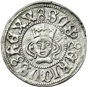 Örtug - Sten Sture the Elder (Regency; Stockholm mynt) – avers