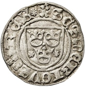 Örtug - Sten Sture the Elder (Regency; Västerås mynt) – avers