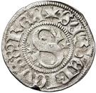 ½ Örtug - Sten Sture the Elder (Regency; Stockholm mynt) – avers