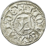 ½ Örtug - Sten Sture the Elder (Regency; Västerås mynt) – revers