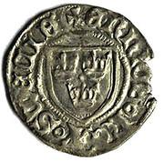Erik of Pomerania - Örtug – avers