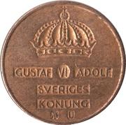 1 öre - Gustaf VI Adolf -  avers