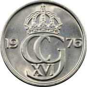 50 öre Carl XVI Gustaf -  avers